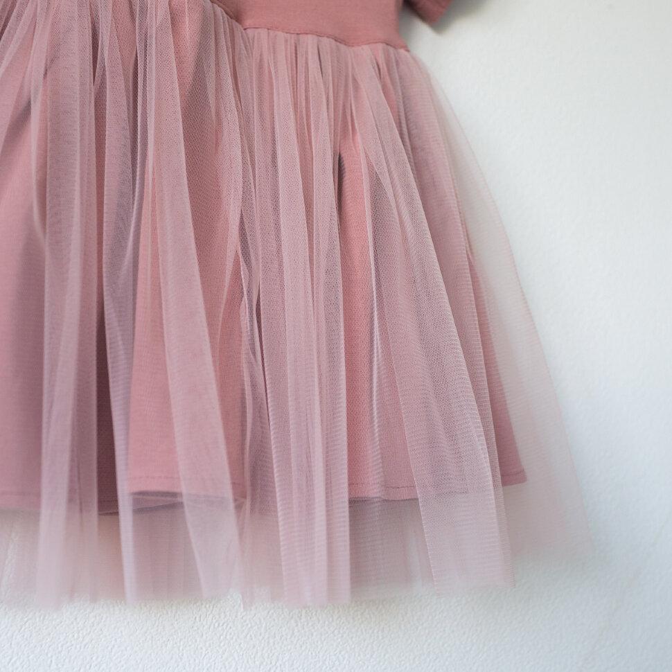 Платье Рубашка С Фатином