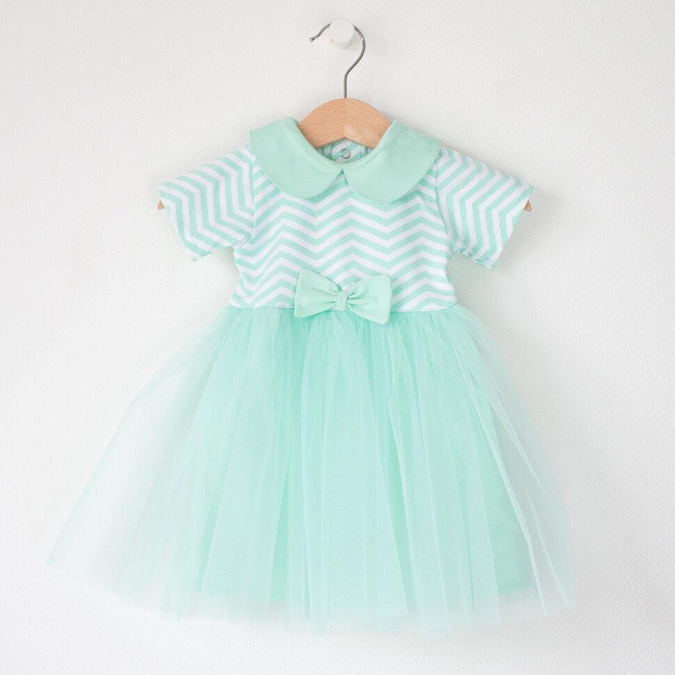 64fb7afb6 Платье мятное зигзаги – Купить в интернет-магазине детской одежды ...